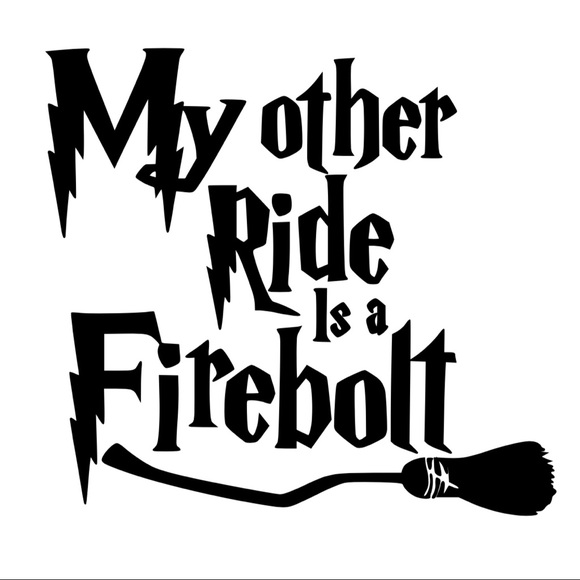 Harry Potter Iron On Vinyl Transfer Decal Patch Boutique